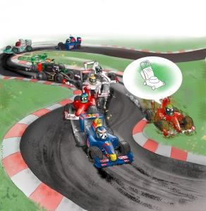 Vettel primer i Felipe Massa fa de talla gespa